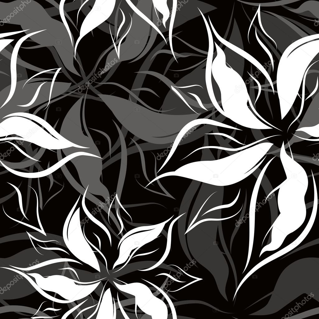Seamless floral pattern — Stock Vector #1028517