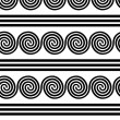 Seamless Greek Pattern - Stock vektor