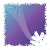 Snow background — Stock Vector