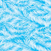 Frost Fir-Tree Seamless Pattern — Cтоковый вектор