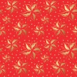 Vector de stock : Flower seamless pattern