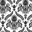 Vector de stock : Seamless Renaissance Wallpaper