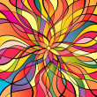Multicolor abstract background — Image vectorielle