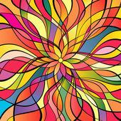 多色の抽象的な背景 — ストックベクタ