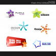 Royalty-Free Stock Vector Image: Star style collection