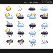Vector de stock : Weather style collection