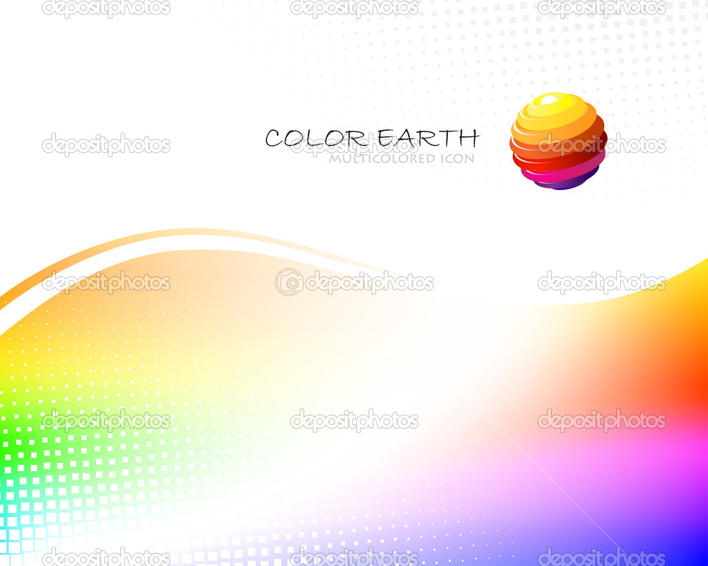 Multicolor background   Stock Vector #1232271