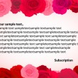 Rose greeting card - Imagens vectoriais em stock