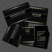 Biz card — Stock Vector