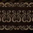Seamless decor border - Vettoriali Stock