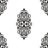 Naadloze barokke patroon — Stockvector