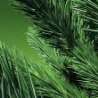 3D. zielony sosnowe — Zdjęcie stockowe