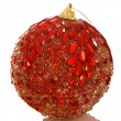 Chrismas red bright ball. — Stock Photo #1049087