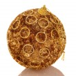 Chrismas gold bright ball. — Foto Stock #1049118