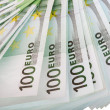 Stock Photo: Backgrounds of one hundred euro.