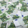 Background of one hundred euro. — Stock Photo