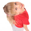 Portrait of girl in red t-shirt. — Stock Photo #1050579