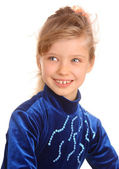 Portrait of girl in sport dress. — Stock Photo