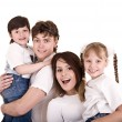 Happy family. — Stock Photo #1336472