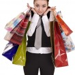Businesswomen with bag shopping. — Stock Photo #1336679