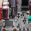 Close-up mother board. — Stock Photo