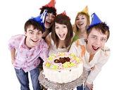 Feliz aniversário de adolescentes. — Foto Stock