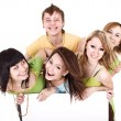 Group of take banner. — Stock Photo #2265809