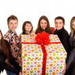 Stock Photo: Group of and gift box.