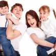 Happy family — Stock Photo #2534555