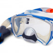 Snorkel and Diving Mask — Stock Photo
