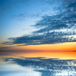 Sunset reflection - Stockfoto