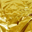 Golden foil texture — Stock Photo