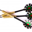 Set of darts - 图库照片