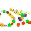 Royalty-Free Stock Photo: Set of beads for children