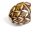 Decorated easter  egg — Stock Photo