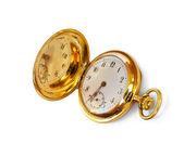 Starožitné zlaté hodinky — Stock fotografie