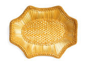 Wicker tray — Foto Stock