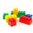 Colorful plastic blocks — Stock Photo #1099792