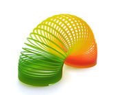 Slinky spring toy — Stock Photo