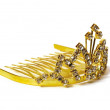 Gold diadem — Stock Photo
