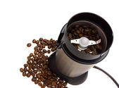Electric coffee grinder — Stock Photo
