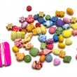 Toy beads set — Stock Photo