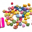 Toy beads set - Foto Stock