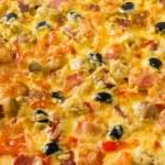 pizza closeup — Foto Stock