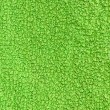 Green terry texture — Stock Photo