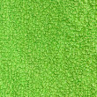 Stock Photo: Green terry texture