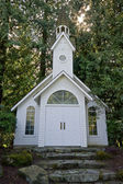 Traditional church front — Stock Photo
