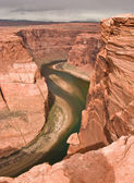 Colorado River Canyon — Stock Photo