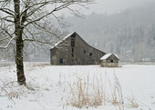 Winter Farm — Stock Photo