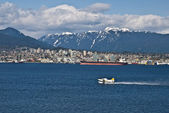 Floatplane in Vancouver — Stock Photo